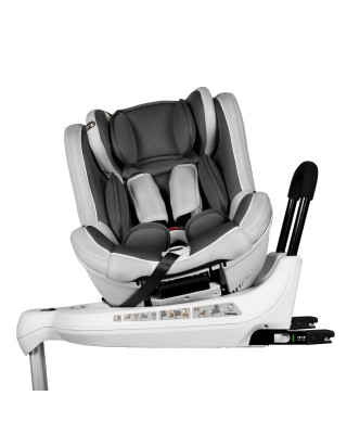Infababy 360 Rotate Group 01 Car Seat - Silver Storm