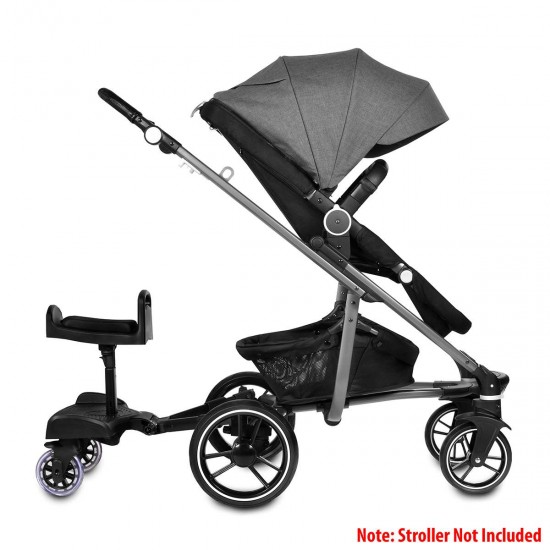Infababy Kiddy Ride On With Seat Unit - Black