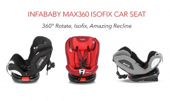 Infababy MAX360 Isofix Car Seat - Group 0123