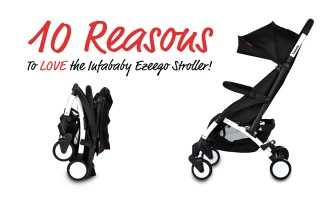 10 Reasons To Love the Infababy Ezeego Stroller