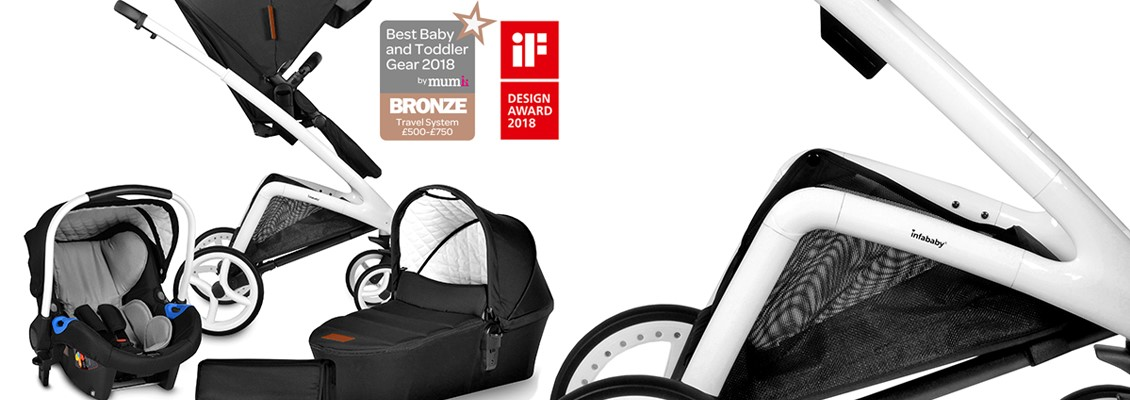Everything About Infababy ICON 3 in 1 Travel System