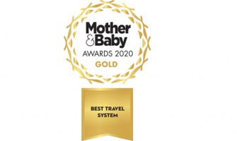 The 2020 Mother and Baby BEST TRAVEL SYTEM GOLD Award goes to... The INFABABY ULTIMO!