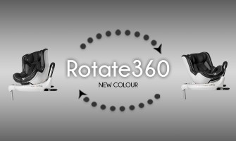 The Infababy Rotate360 car seat – New Colour!