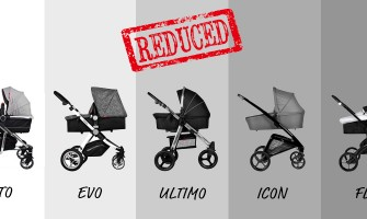 Massive REDUCTIONS across ALL 3 in 1 Travel Systems!