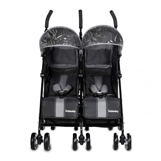 Infababy Duo-Sport Double Buggy - Shadow Grey