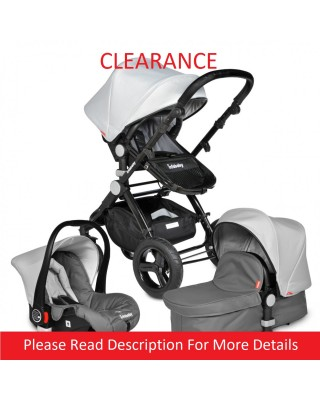 Infababy EVO 3in1 Travel System - Grey - CLEARANCE