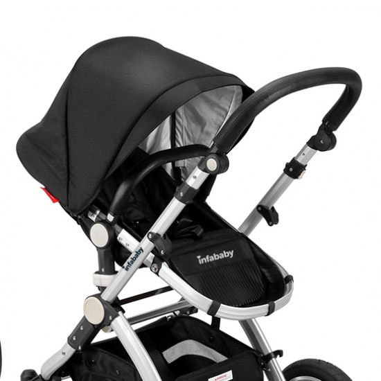 Infababy EVO 3in1 Travel System - Black