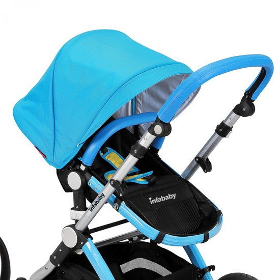 Infababy EVO 3in1 Travel System - Electric Blue