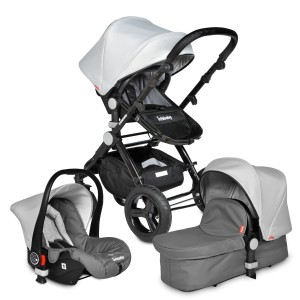 Infababy EVO 3in1 Travel System - Grey