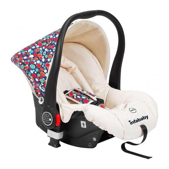 Infababy EVO 3in1 Travel System - Rainbow Spots