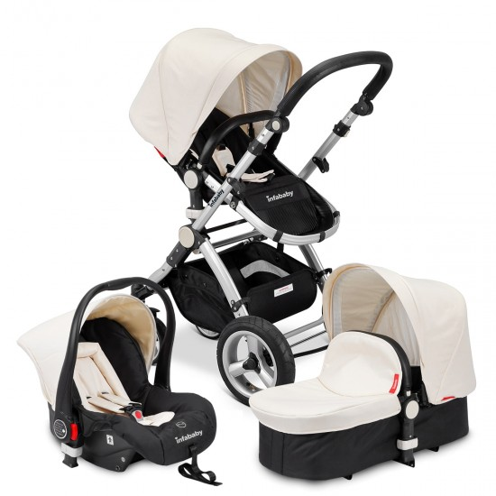 Infababy EVO 3in1 Travel System - Champagne