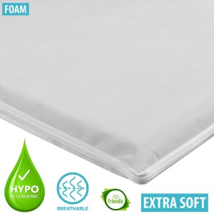 Infababy Crib Mattress - Luxury Foam – Non-Allergenic - 92 X 41cm