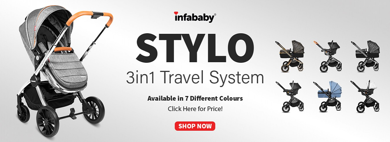 Infababy Stylo 3 in 1 Travel Systems