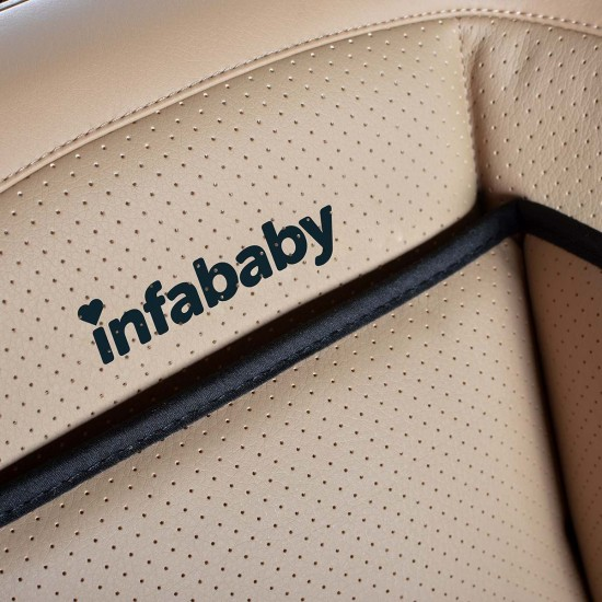 Infababy – Eco Leather Group 123 Car Seat - Beige