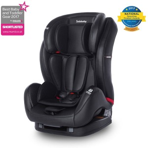 Infababy – Eco Leather Group 123 Car Seat – Black