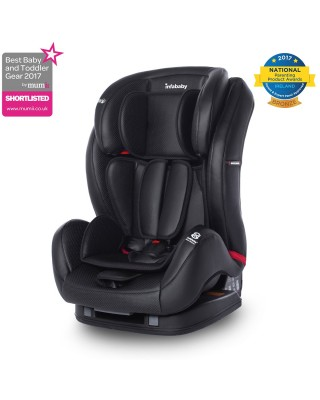 Infababy - Eco Leather Group 123 Car Seat - Black