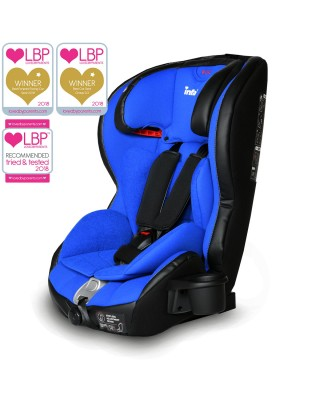 Infababy Safe-Plus Isofix Car Seat - Group 123 - Blue