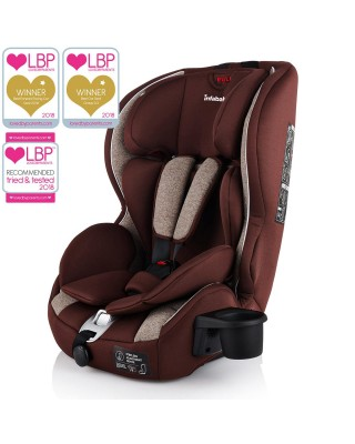 Infababy Safe-Plus Isofix Car Seat - Group 123 - Mocha