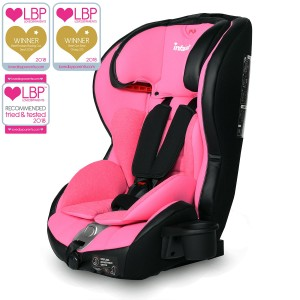 Infababy Safe-Plus Isofix Car Seat - Group 123 - Pink