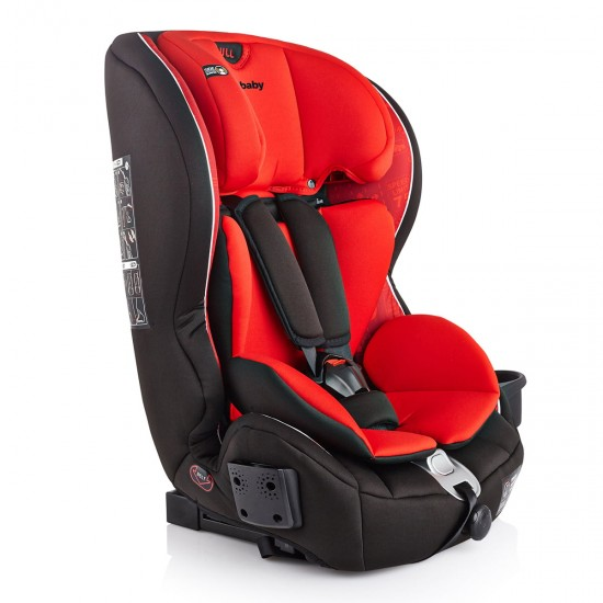 Infababy Safe-Plus Isofix Car Seat - Group 123 - City Red