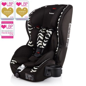 Infababy Safe-Plus Isofix Car Seat - Group 123 - Zebra