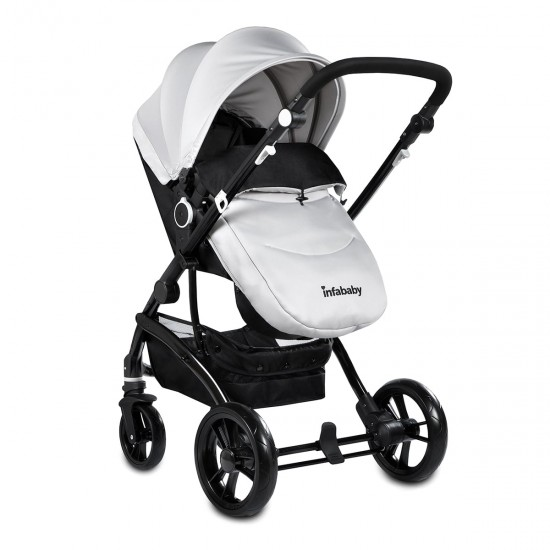 Infababy FLO 3in1 i-Size Travel System - Moon Grey