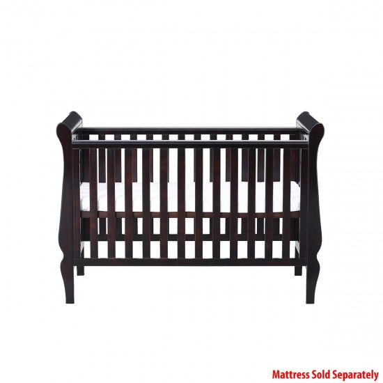 Infababy Regal Sleigh Cot - Coco