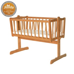 Infababy Swinging Crib - Antique Pine