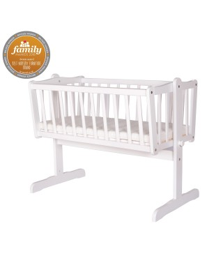 Infababy Swinging Crib - White