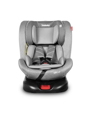 Infababy MAX360 Isofix Car Seat - Group 0123 – Anthracite