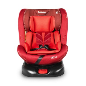 Infababy MAX360 Isofix Car Seat - Group 0123 – Ruby