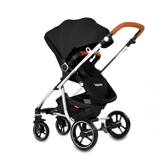 Infababy MOTO 3in1 i-Size Travel System - Midnight