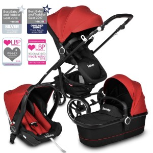 Infababy MOTO 3 In 1 I-SIZE Travel System - Chili