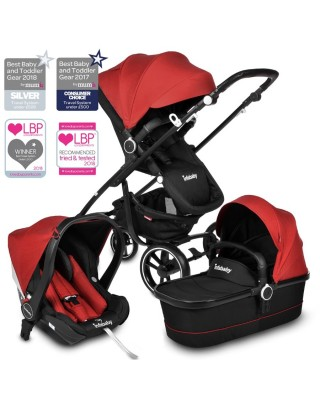 Infababy MOTO 3in1 i-Size Travel System - 2020 Model - Chili