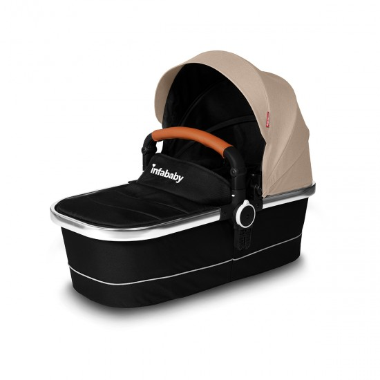 Infababy MOTO 3in1 i-Size Travel System - 2020 Model - Soft Beige