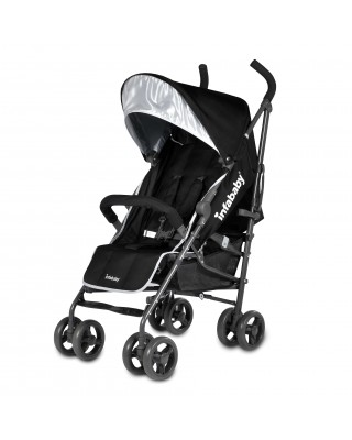 Infababy Halo Stroller - Cool Black
