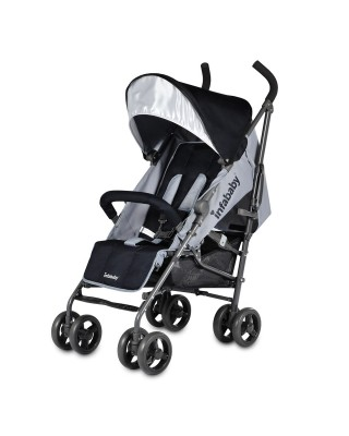 Infababy Halo Stroller - Cool Grey