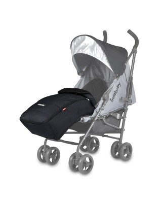Infababy Halo Stroller Footmuff - Cool Grey
