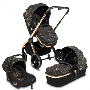 Infababy STYLO 3in1 Travel System - Gold Diamond
