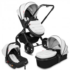 Infababy STYLO 3in1 Travel System - Soft Grey