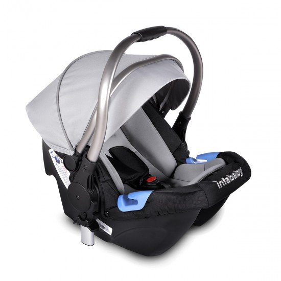 Infababy ULTIMO 3-Wheel 3in1 Travel System - Space Grey