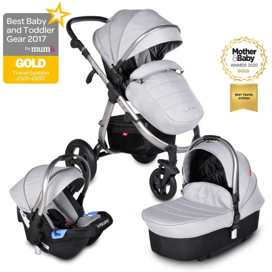 Infababy ULTIMO 4-Wheel 3in1 Travel System - Space Grey