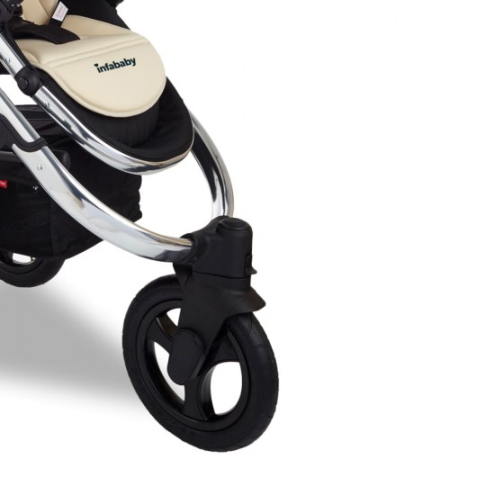 Infababy ULTIMO 3-Wheel 3in1 Travel System - Champagne Supernova
